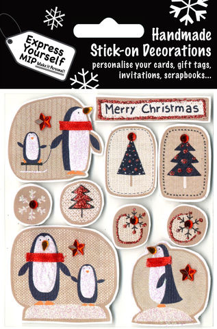 Penguins,&,Trees,Craft, Christmas, Christmas decorations, handmade, Toppers, Penguins & Trees