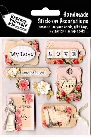 Love,Tags,Craft, Love, Tags, Vintage, Flowers, Roses, Eiffel Tower, Heart Shape, Banner, Label, Lady, Pink, Topper