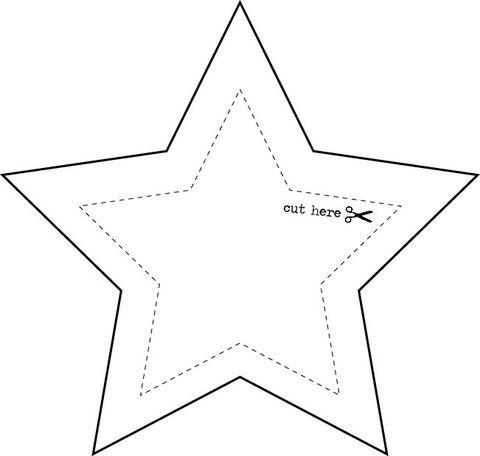 Star Template Large Vosvetenet – Star Template