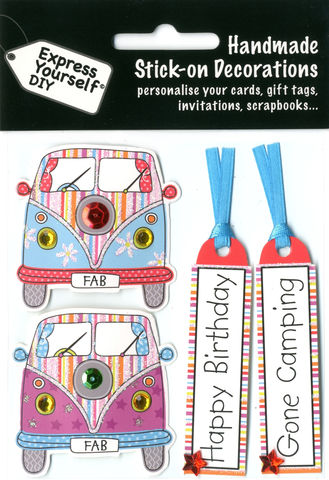 Camper,Vans,Craft, Camper Vans , Happy Birthday