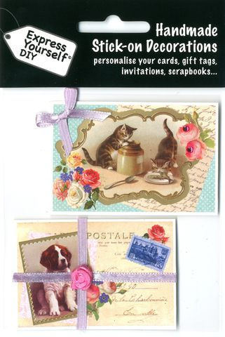 Vintage,Cat,&,Dog,Craft, Vintage, Cat, Dog