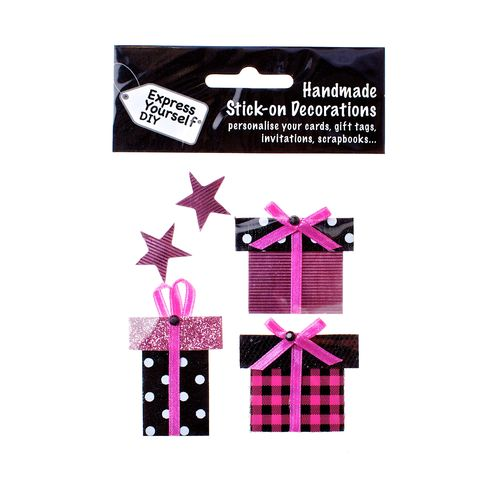 Gift,Boxes,&,Stars,Craft, Stars, Gift Boxes, Purple