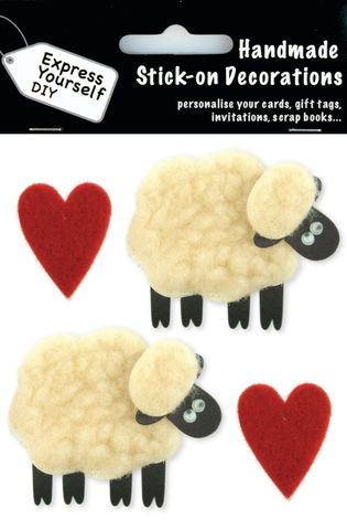 Sheep,&,Hearts,Craft, Heart, Sheep