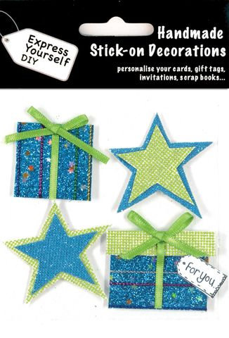 Stars,&,Presents,Craft, Star, Present
