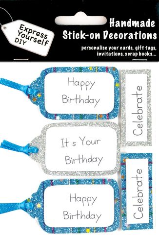 Birthday,Tags,Craft, Birthday, Tags