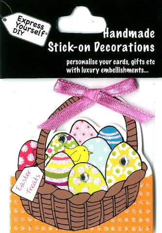 Mini,Toppers,-,Basket,Of,Eggs,Craft, Easter, Basket, Eggs, Mini Toppers