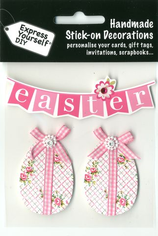 Floral,Eggs,&,Easter,Bunting,Craft, Easter, Floral Eggs, Bunting, Toppers