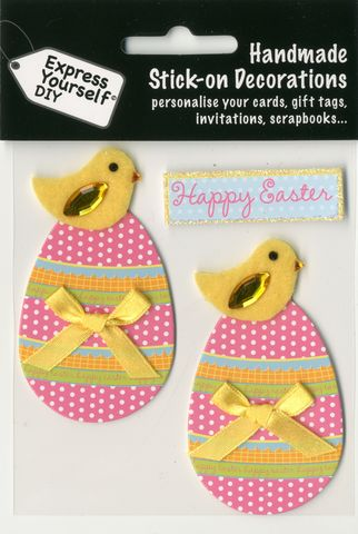 Chicks,On,Spotty,Eggs,Craft, Easter, Chicks, Spotty Eggs , Toppers