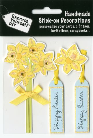 Daffodils,Craft, Easter, Daffodils, Flowers , Toppers