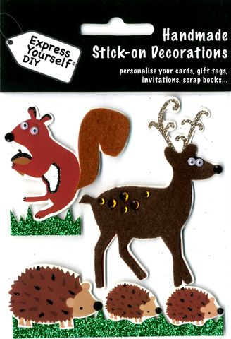 Deer,,Squirrel,&,Hedgehogs,Craft, Deer, Squirrel, Hedgehogs, Animals, Topper
