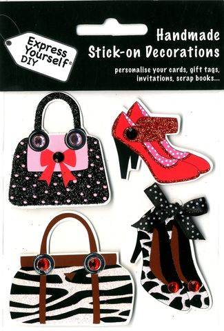 Animal,Print,Shoes,&,Bag,Craft, Animal Print, Shoes, Bag , Topper
