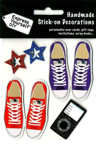 Converse,Shoes,Craft, Converse, Stars, Music Player,Male Shoes, Topper