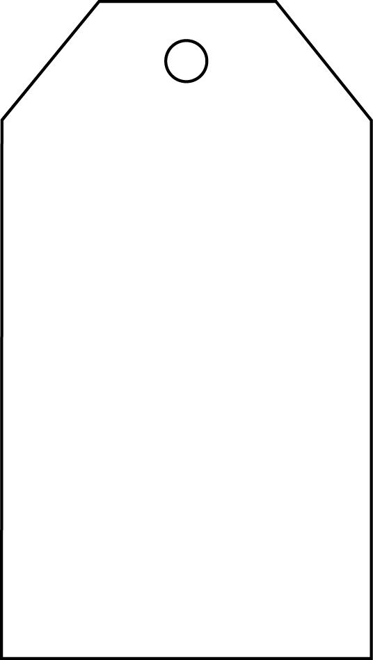Blank Tag Template Blank Tag Template