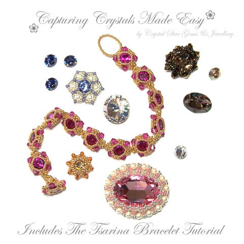 Capturing,Crystals,made,Easy,Patterns,Beading,Jewelry,jewellery,Tutorial,bezzle,crystal_bezzles,embellishing_crystal,capturing_crystals,beading_a_rivoli,rivoli_bezzle,pattern,beaded_rivoli,rivoli,crystal,crystals,swarovski,seed beads,toho seed beads,miyuki seed beads,swar