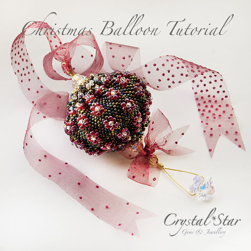 Balloon Ornament Tutorial - product images