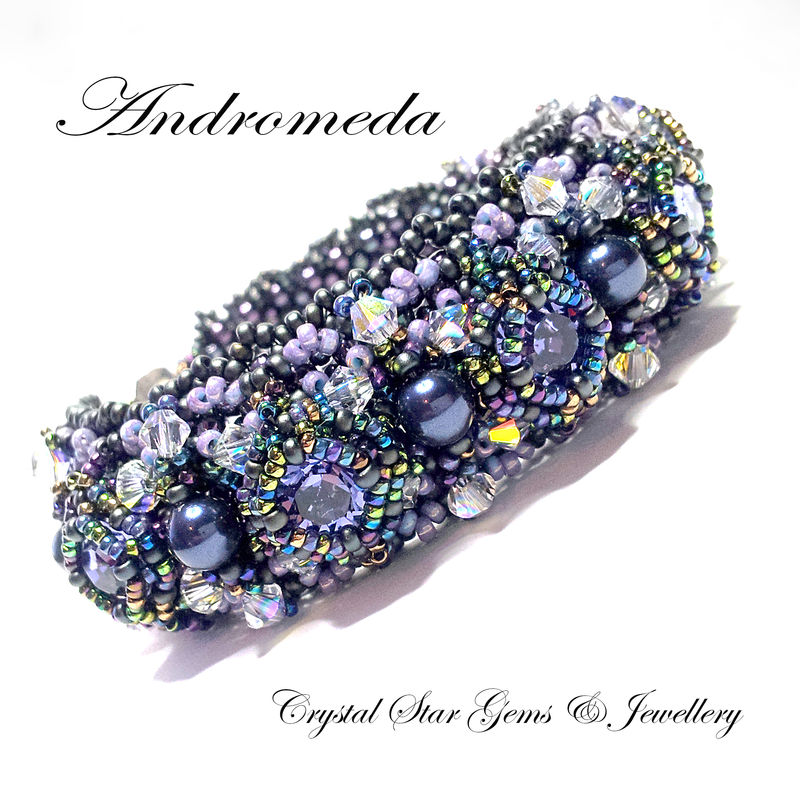 Andromeda - Beadwoven Bracelet - product image