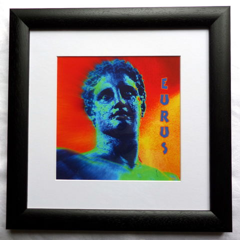 Eurus,,Greek,God,of,the,East,Wind,,Giclee,Print,giclee print, Eurus, greek wind god, greek god, wind god, deity, east wind, greek mythology, gifts for men, gifts for him, meteorology gifts, wall art,