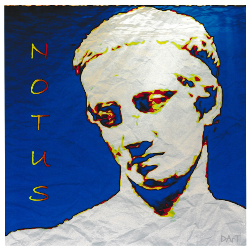 Notus, Greek God of the South Wind, Giclee Print - product image