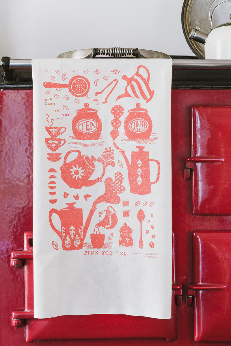Time for tea tea towel - product images  of