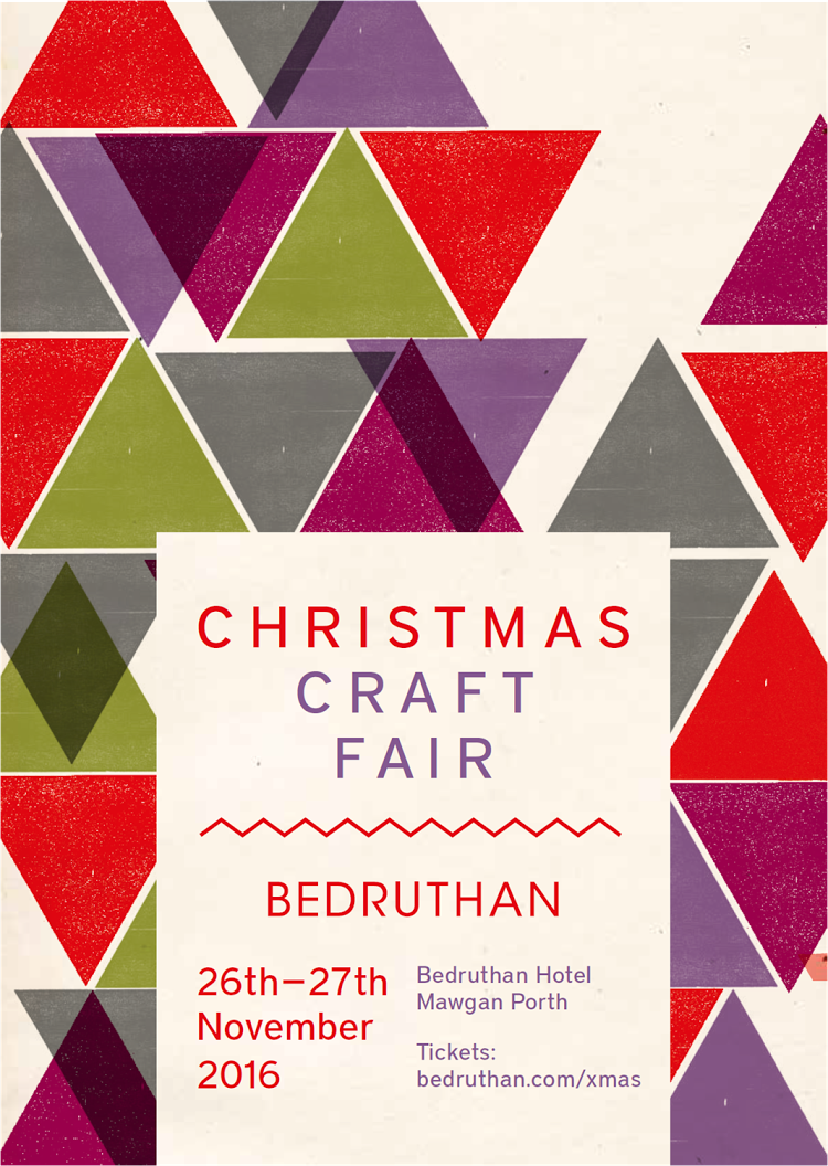 Mellybee at Bedruthan Christmas Craft Fair