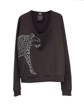 -,O-SIZE-SWEATER-CHEETAH,Sweater, Cheetah, Gepard, 3 Monkeys, III Monkeys, Hamburg, Fashion