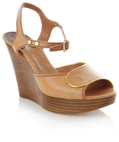 Chloé,-,Wooden,Wedges,Chloé - Wooden Wedges