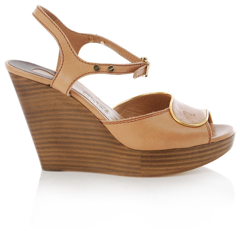 Chloé - Wooden Wedges - product images  of