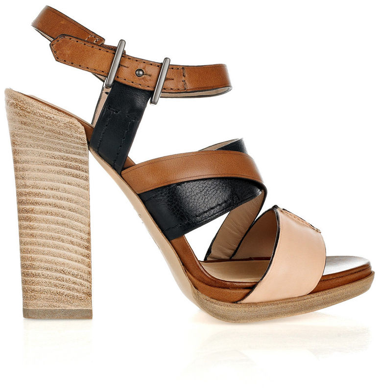 Reed Krakoff - Leather Multi-strap Sandals - product images  of