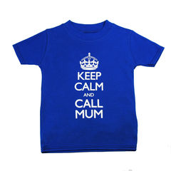 Keep Calm Call Mum - T-shirt Blue Hue Edition - product images 1 of 1