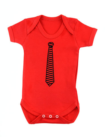 Baby,Tie,-,Red,Edition,Childrens wear,Baby clothes,Bodysuit,baby wear,baby onesie,baby tie,baby office onesie,baby office,baby grow,office baby,babygrow,Tie onesie,Onesie with tie,baby clothes,cotton