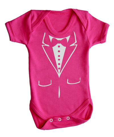 Fushsia,Baby,Tuxedo,Clothing,Children,baby_wear,baby_suit,baby,onesie,Baby_Onesie,Baby_Clothes,baby_tuxedo,tuxedo_baby_grow,tuxedo_bodysuit,onesie_tuxedo,Pink,Pink_Tuxedo,cotton,thermal print