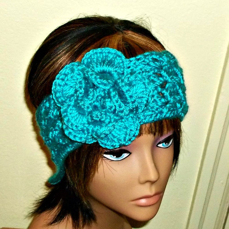 how to wear headband ear warmer with short hair