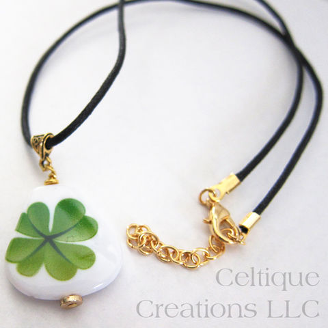 Handmade,Celtic,Irish,Four,Leaf,Clover,Necklace,Handmade Celtic Necklace, Celtic Necklace, Shamrock Necklace, Irish Necklace, Clover Necklace, Four Leaf Clover Necklace, Handmade Celtic Jewelry