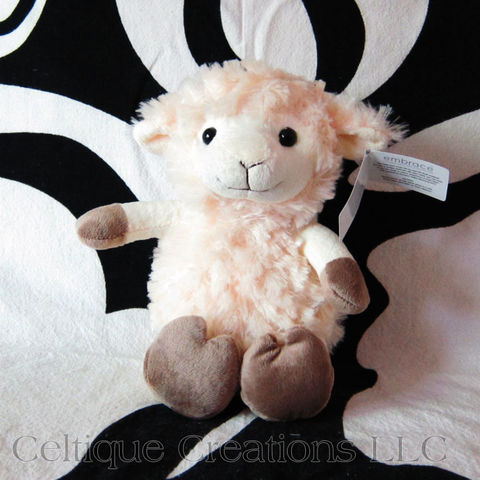 Sitting,Lamb,Stuffed,Animal,Cream,Sheep,Soft,Toy,lamb stuffed animal, sheep stuffed animal, sitting sheep, lamb soft toy, sheep soft toy, cute sheep, cute lamb