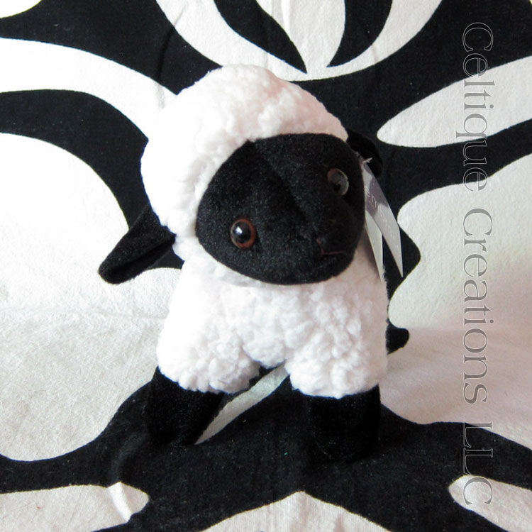 Lammy Lamb Stuffed Animal Sheep with Black Face Soft Toy - product images  of