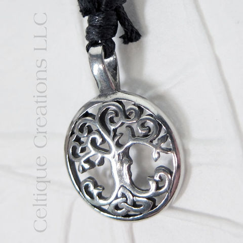 Celtic,Tree,of,Life,Adjustable,Fine,Pewter,Necklace,Tree of Life, Celtic Tree of Life, Tree of Life Necklace, Tree of Life Jewelry, Celtic Jewelry, Celtic Pewter Jewelry, Celtic Tree of Life Necklace, Celtique Creations