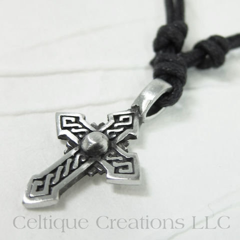 Pointed,Celtic,Cross,Necklace,Ajustable,Fine,Pewter,Celtic Cross Necklace, Pewter Celtic Necklace, Celtic Cross Adjustable Necklace, Adjustable Celtic Necklace, Celtic Jewelry, Celtique Creations