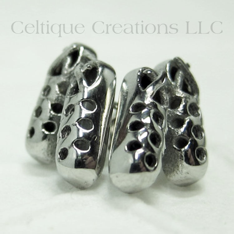 Ghillie Dance Shoe Stud Earrings Stainless Steel Product Images Of