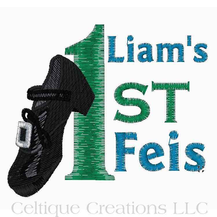 Hard Shoe First Feis Personalized Irish Dance Cubbies Stuffed Animal - product images  of