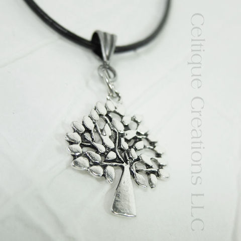 Handmade Tree of Life Necklace Adjustable - product images  of