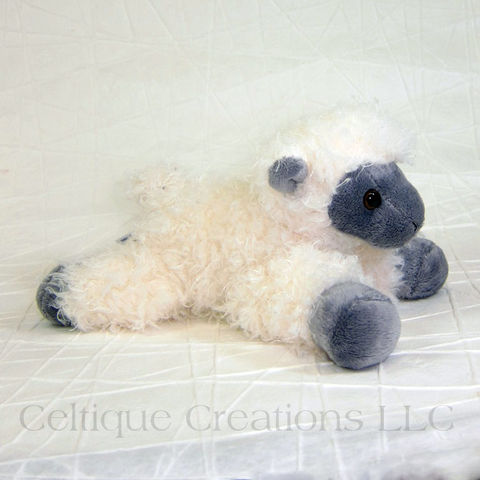 Sheep,Mini,Flopsies,Stuffed,Animal,Sheep Stuffed Animal, Lamb Stuffed Animal, Sheep Soft Toy, Lamb Soft Toy, Lamb, Sheep, Barnyard Stuffed Animal, Mini Flopsies, Aurora Stuffe Animals, Celtique Creations