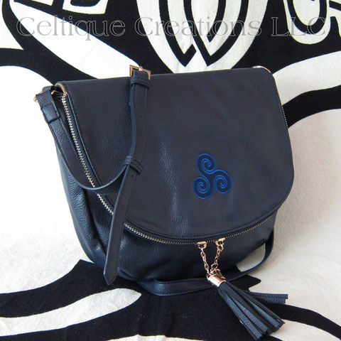 Celtic Triskele Sienna Tassel Crossbody Purse - product images  of