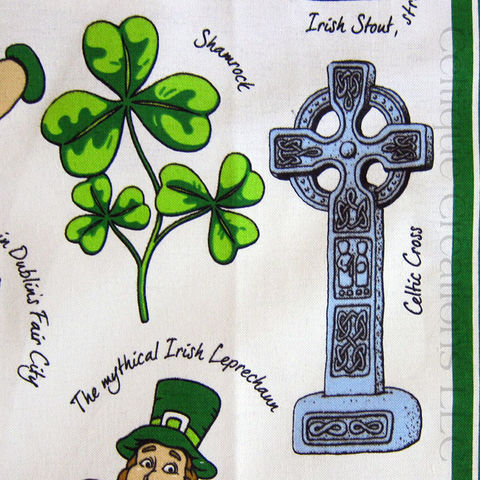 Iconic Ireland Cotton Tea Towel - product images  of