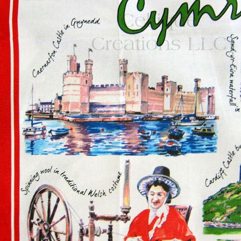 Welsh Tea Oil Painting