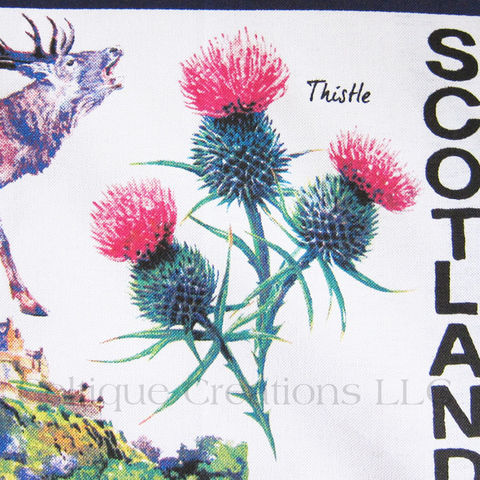 Iconic Scotland Cotton Tea Towel - product images  of
