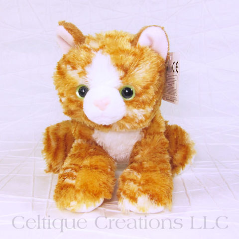 Molly the Orange Tabby Kitten Mini Flopsie Stuffed Animal - product images  of