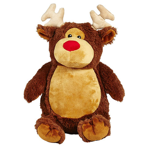 Personalized,Christmas,Reindeer,Cubbies,Stuffed,Animal,Reindeer Stuffed Animal, Reindeer Teddy Bear, Personalized Gift, Personalized Teddy Bear, Reindeer, Christmas Gift, Personalized Christmas Gift, Cubbies, Celtique Creations