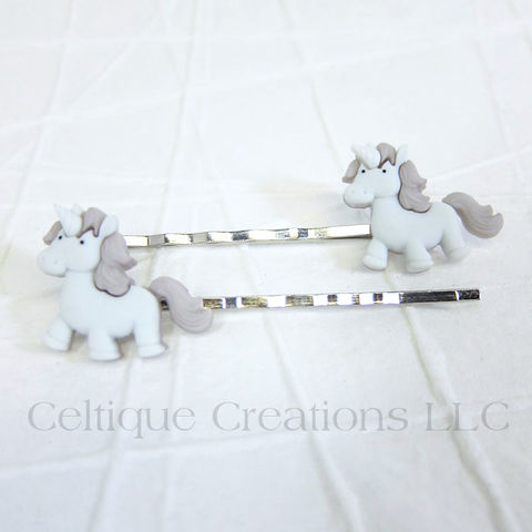 Cute,Unicorn,Bobby,Pins,Handmade,Hair,Accessories, Bobby Pin, Bobby Pins, Hair Accessories, Hair Slides, Handmade, Pony, Cute, Adorable, Celtique Creations