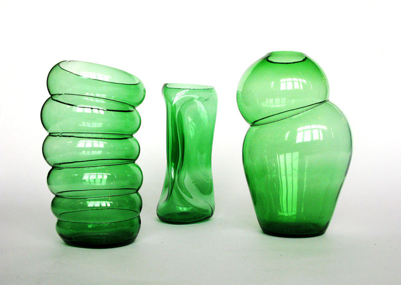 ‹BOTTLES COLLECTION› VASES BY KLAAS KUIKEN - product images  of