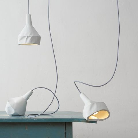 ‹LIKE,PAPER›,BETONLEUCHTE/,CONCRETELIGHT,Like paper, light, due, concrete, paper, lamp, licht, lampe, white, beton